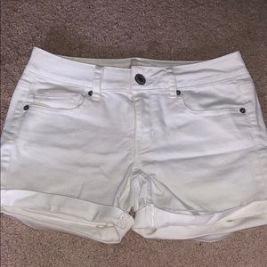 Off white Jean shorts